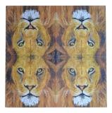 Ubrousek zvířata - lev