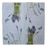 Ubrousek květiny - kytička levandule fialová
