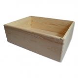 Dřevěná bedýnka  - střední