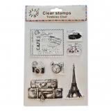 Silikonová razítka - Paříž