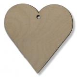 Závěs - srdce 1 - 50 mm