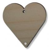 Závěs - srdce 2 - 60 mm