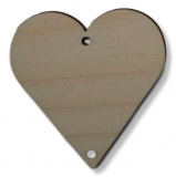Závěs - srdce 2 - 55 mm