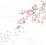 Papír na scrapbooking - kouzelné květy