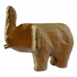 Slon - papírová figurka na decoupage