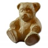 Medvídek - papírová figurka na decoupage