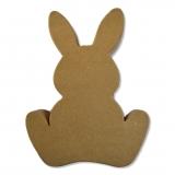 Velikonoční zajíc - papírová figurka