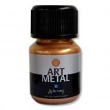 Metalická barva - zlatá 30 ml