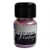 Metalická barva - perlově rudá 30 ml