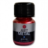 Metalická barva - lávově rudá 30 ml