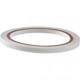 Oboustranná lepící průhledná páska 6 mm