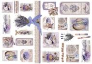 Rýžový papír na decoupage - levandule