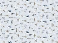 Dekorační papír  - letadla