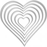 Vyřezávací šablona - srdce