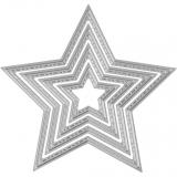 Vyřezávací šablona - hvězda