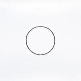 Drátěný kruh na lapač snů černý - průměr 13 cm