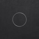Drátěný kruh na lapač snů stříbrný - 8 cm