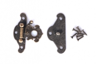 Kovové zapínání velké - bronz