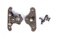 Kovové zapínání malé - bronz