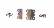 Kovové panty malé bronz - sada 2 ks