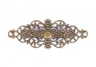 Kovový ornament 2 - bronz