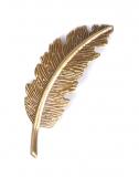 Kovové pírko - bronz