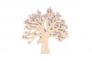 Dřevěná dekorace - strom