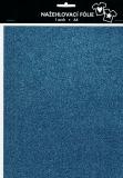 Nažehlovací fólie s glittry A4 - old blue