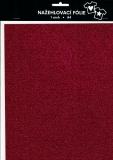 Nažehlovací fólie s glittry A4 - hot pink