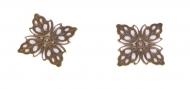 Kovový ornament - čtverec