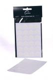 Papírové rožky bílé - 72 ks