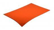 Barevná dekorativní plsť (filc) oranžová A4