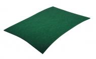 Barevná dekorativní plsť (filc) zelená A4