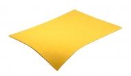 Barevná dekorativní plsť (filc) žlutá A4
