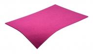 Barevná dekorativní plsť (filc) růžová A3