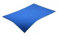 Barevná dekorativní plsť (filc) modrá A3