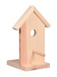 Dřevěný domeček na složení ptačí budka