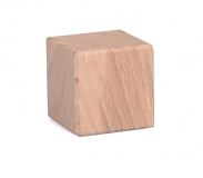Dřevěná kostka malá 25