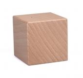 Dřevěná kostka velká 40