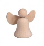 Dřevěný andělíček s křídly