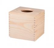 Krabička na kapesníky s kruhovým otvorem