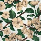 Ubrousek 33x33 - Květy Jabloně