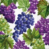 Ubrousek 33x33 - Hrozny vína