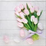 Ubrousek 33x33 - Kytice Tulipánů