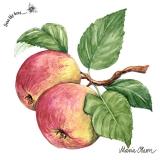 Ubrousek 33x33 - Jablka na větvičce 2