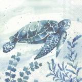 Ubrousek 33x33 - Mořská želva