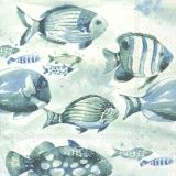 Ubrousek 33x33 - Ryby v moři