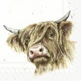 Ubrousek 33x33 - Zvířata na statku Býk