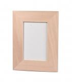 Rámeček na fotky dřevěný plochý 10x15 cm (4) Topol