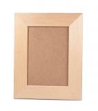 Rámeček na fotky dřevěný plochý 13x18 cm (4) hnědý sololit